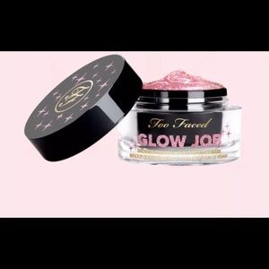MUST GO! ⭐️GLOW JOB⭐️ Glitter Mask, Too Faced- New